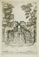 """Fountain above the Water theater of the [Villa Belvedere] at Frascati"" (Fig. 19)"