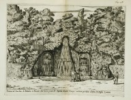 """Fountain in the garden of the [Villa] Belvedere at Frascati..."" (Fig. 25)"