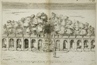 """Great water theater in the gardens of [of the Villa] Ludovisi in Frascati"" (Fig. 40)"