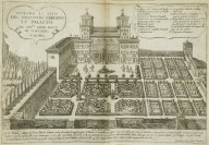 """Design and situation of the magnificent garden and palace of the great duke of Tuscany in Rome"""