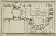 """Possible floor plan of the country house of the younger Pliny called Laurentian"""