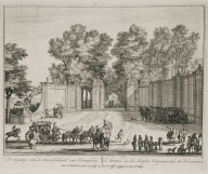 """Entrance to the estate of Heemstede"" (Plate 3)"
