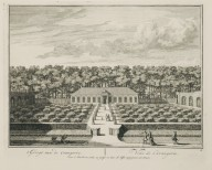 """View of the orangerie"" (Plate 4)"