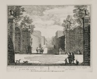 """The berceaux, from the entrance to the front of the house"" (Plate 11)"
