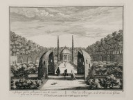 """View of the bocage to the right of the grotto"" (Plate 20)"