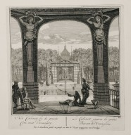 """The cabinet near the great basin of the orangerie"" (Plate 26)"