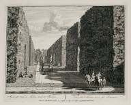 """View of the allée with its statues"" (Plate 17)"