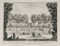 """View of the fish pond from the left side"" (Plate 9)"