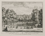 """View of the fish pond from the right side"" (Plate 10)"