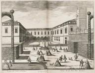 """""""View of the courtyard in Castellazzo [ Villa Arconati]"""""""
