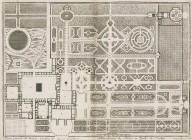 """General plan of the palace and gardens of Castellazzo [Villa Arconati]"""