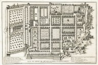 """Plan of the garden of his most serene highness, the Duke of Parma on the Palatine hill, architecture by Girolamo Rainaldi"" (Plate 10)"