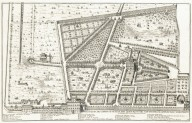 """Plan and elevation of the garden and vineyards of Pope Sisto V, today of his emminence Prince Cardinal Paolo Savelli Peretti. Architecture by sir Domenico Fontana"" (Plate 14)"