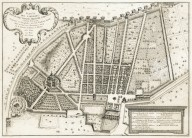 """Plan of the garden of his excellence Prince Ludovisi at the Porta Pinciana"" (Plate 12)"