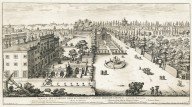 """View of the garden of his excellency Prince Ludovisi at the Porta Pinciana"" (Plate 11)"