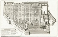 """Plan of the papal garden on the Quirinale. Architecture by Octavio Mascharini"" (Plate 6)"