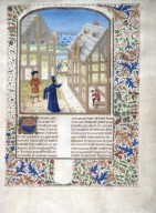 Le livre des prouffis champestres et ruraux, Book 1 On choosing habitable locations (folio 11)