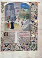 Le livre des prouffis champestres et ruraux, Book 5 On trees (folio 112v)