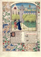 Le livre des prouffis champestres et ruraux, Book 8 On pleasure gardens (folio 205v)