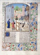 Le livre des prouffis champestres et ruraux, Book 9 On animals that are kept in the country (folio 212)