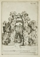"""Fountain in the garden of his Excellency Cardinal d'Este of the Quirinale hill"" (Fig. 35)"