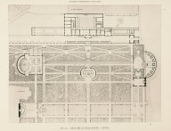 """""""A selection of plans of great executed compositions, presented with their gardens or surroundings in a series of ensembles from Antiquity and the Renaissance to modern times."""""""