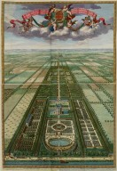 """Plan or view of Heemstede in the province of Utrecht"""