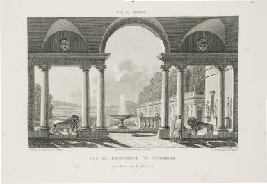 """View from the interior of the vestibule"" (Plate 11)"