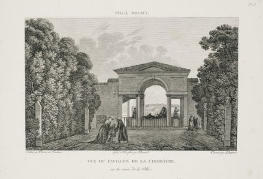 """View of the Loggia of Cleopatra on the city walls"" (Plate 13)"