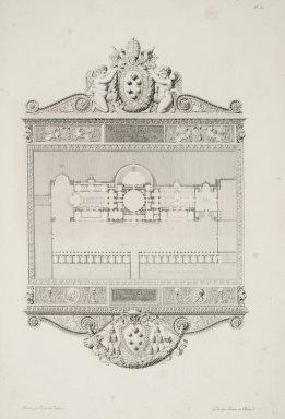 """""""Villa Madama in Rome"""" (Plate 39)"""