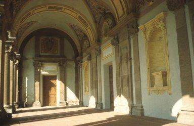 Garden portico