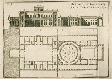 [Plan of the Laurentian Villa] (p. 54)
