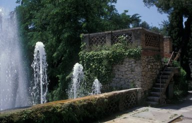 Fountain of the cascade