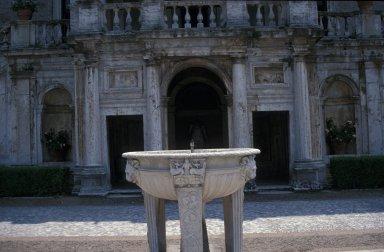 Entrance loggia