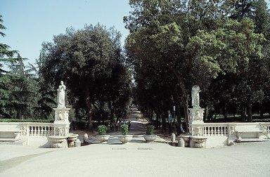 Garden in front of the casino