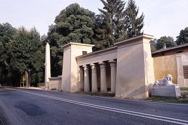 Egyptian propylaeum