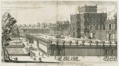 """Third view of the Villa Doria Pamphili, which has been captured from the east"""