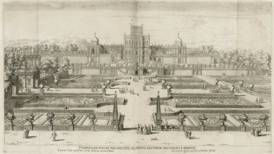 """Second view of the Villa Doria Pamphili from the south captured from the middle"""