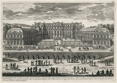 """The Chateau of Saint-Cloud"" (Plate 65)"