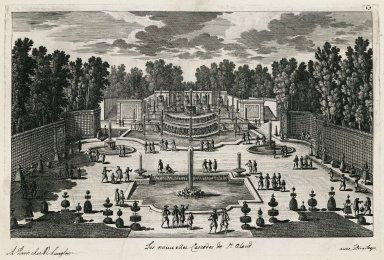 """The new cascades of Saint-Cloud"" (Plate 69)"