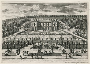 """The trianon or pavillon of Saint-Cloud"" (Plate 71)"