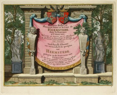 """""""Series of beautiful and pleasant views of Heemstede in the province of Utrecht"""" (Plate 1)"""