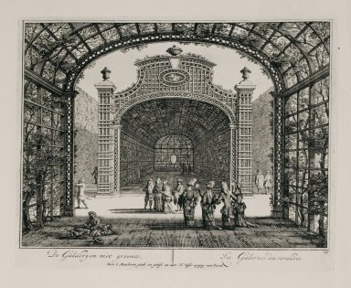 """The green galleries"" (Plate 19)"
