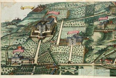 """Frascati, villas in the possession of the church"""