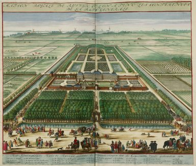 """""""Royal palace of Rijswijk where the general peace conference was held"""""""