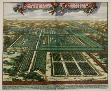 """""""General view of the beautiful park of Sorgvliet [Zorgvliet]"""""""
