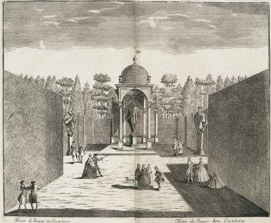 """""""Theater of Pompey in Castellazzo [ Villa Arconati]"""""""