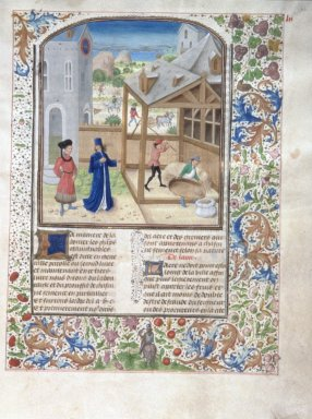 Le livre des prouffis champestres et ruraux, Book 3 On the agricultural fields (folio 62)