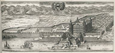 """""""Skokloster Castle, belonging to the famous and excellent Carl Gustav Wrangel"""""""