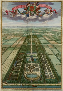 """""""Plan or view of Heemstede in the province of Utrecht"""""""